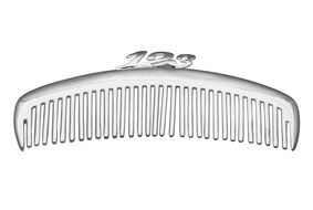 Comb Silver drawing