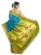 colorful Wedding Saree