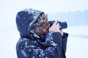 frosty photographer