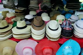 stall with headwear