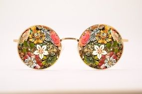 photo of antique sunglasses