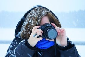 Frosty Photographer lumix fz 1000