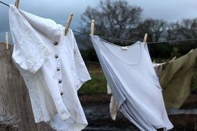 clothes for drying