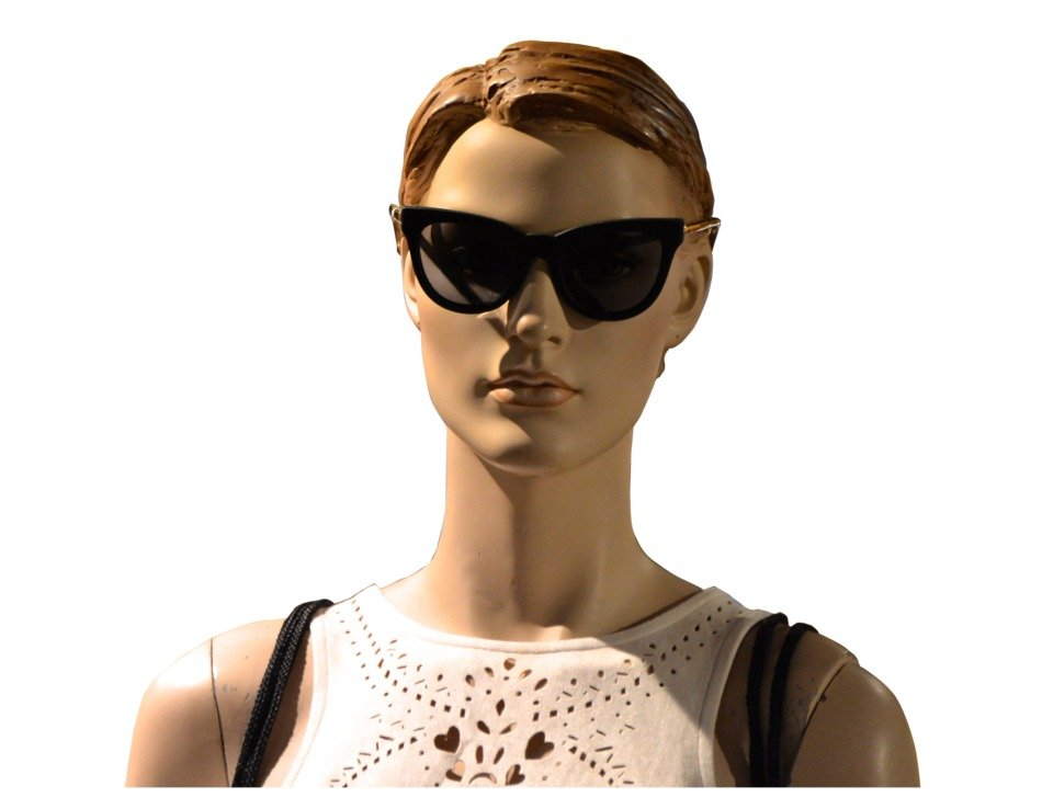 stylish mannequin face