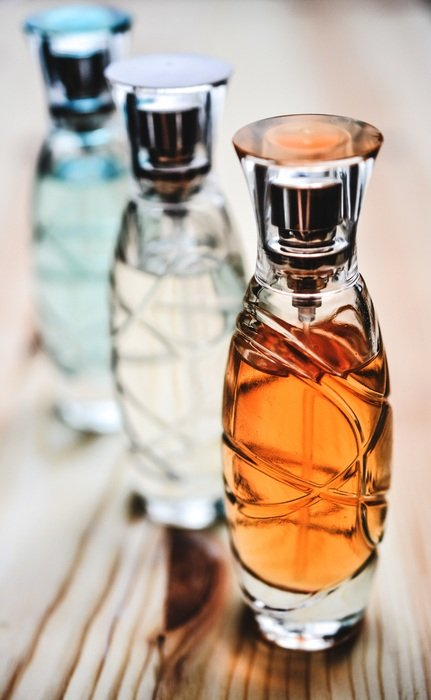 glass bottle cosmetics