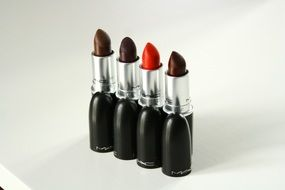 lipstick in different colors for makeup
