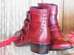 Leather Boots Footwear Fashion