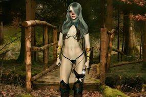 fantasy woman warrior