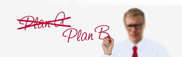 Strategy of plan A and plan B in business