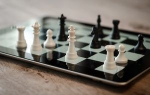 chess on ipad as a strategy