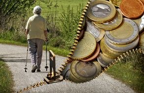 old-age pension problem