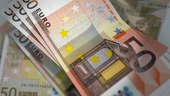 Euro Banknotes Currency Bill
