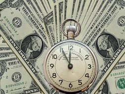 dollars and pocket watches