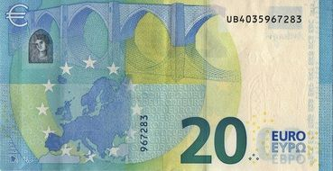 Euro Money Banknote Currency