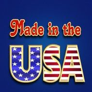 made in the USA poster drawing