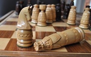 Strategy of success in chess game
