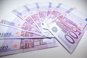 Money Euro Currency Banknote