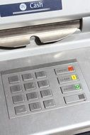 Automated teller machine, detail