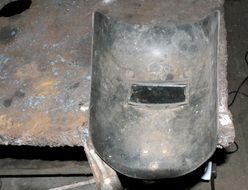 metal protection mask for acetylene welding