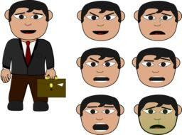 emotions of a business person