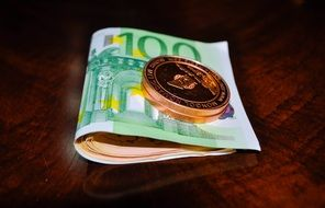 Euro coin and cash currency