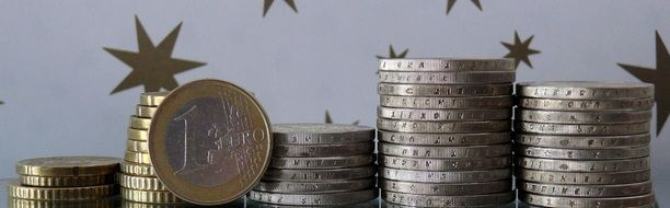 photo of 1 euro coins