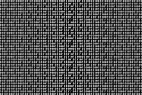 binary system codes on a black background
