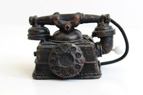 Telephone old metall