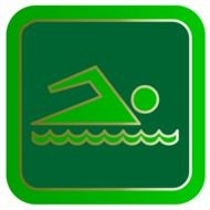 icon of swimming pool