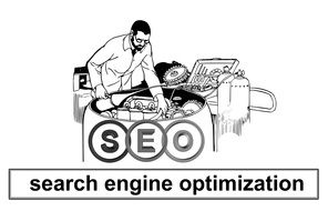 search engine optimization on a banner