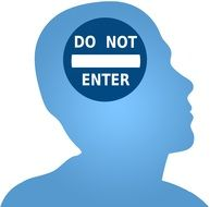 do not enter Head drawing