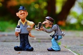 funny ceramic journalist and photographer