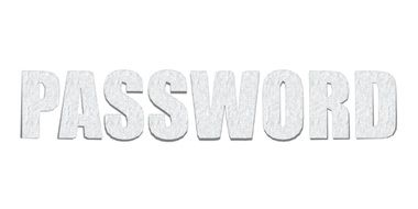 Password text drawing