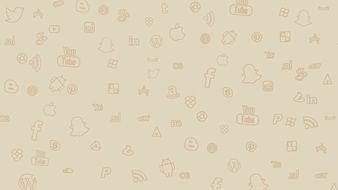 background image with social networking icons