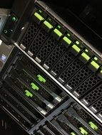 Photo of the computer server