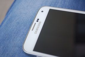 "white mobile phone ""Samsung"""