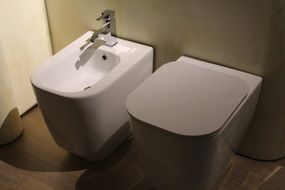 plumbing with a bidet