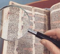 The manuscript through a Magnifying Glass