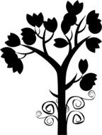 Decorative Tree drawing