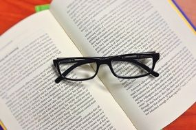 Book Glasses Read Education