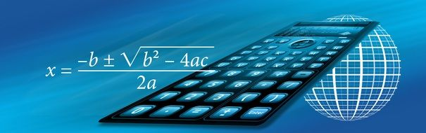 School calculator banner