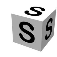 Letter Block S Drawing