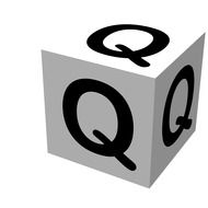 Letter Block Q drawing