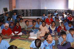 school room in India