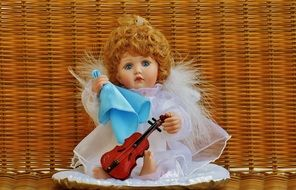 collector's doll guardian angel