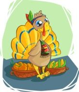 Turkey Indian drawing