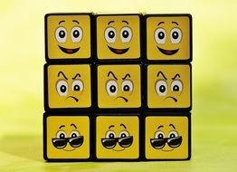 various cube smilies