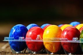 Easter eggs colors