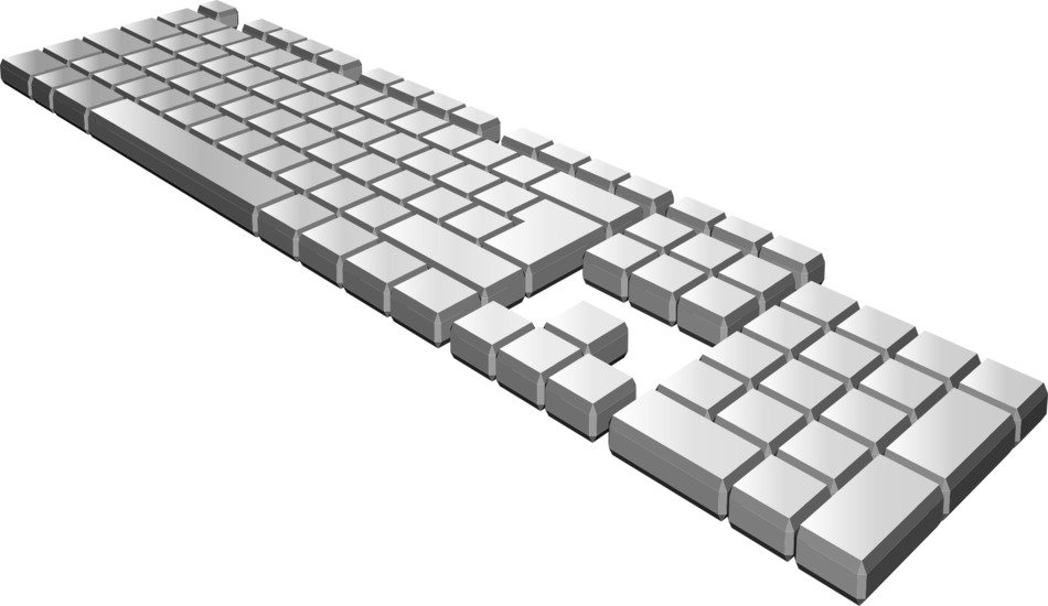 Clipart of Computer Keyboard