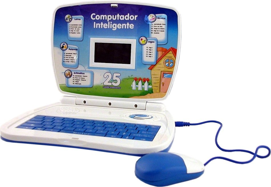 graphic image of a bright children's computer